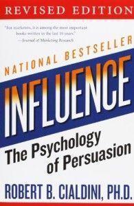 Libro Influencia la psicología de la persuasión