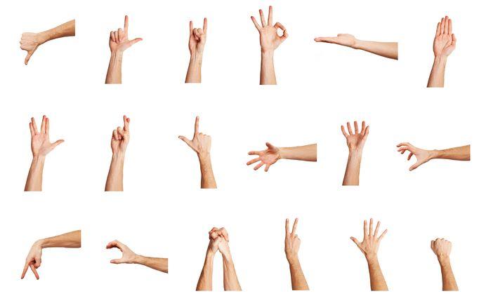 gestos manos