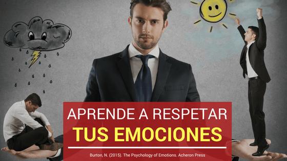 Respetar emociones
