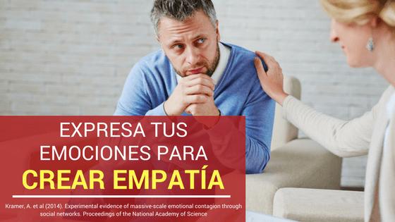 Crear empatia